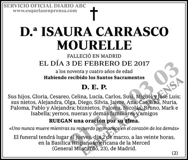 Isaura Carrasco Mourelle